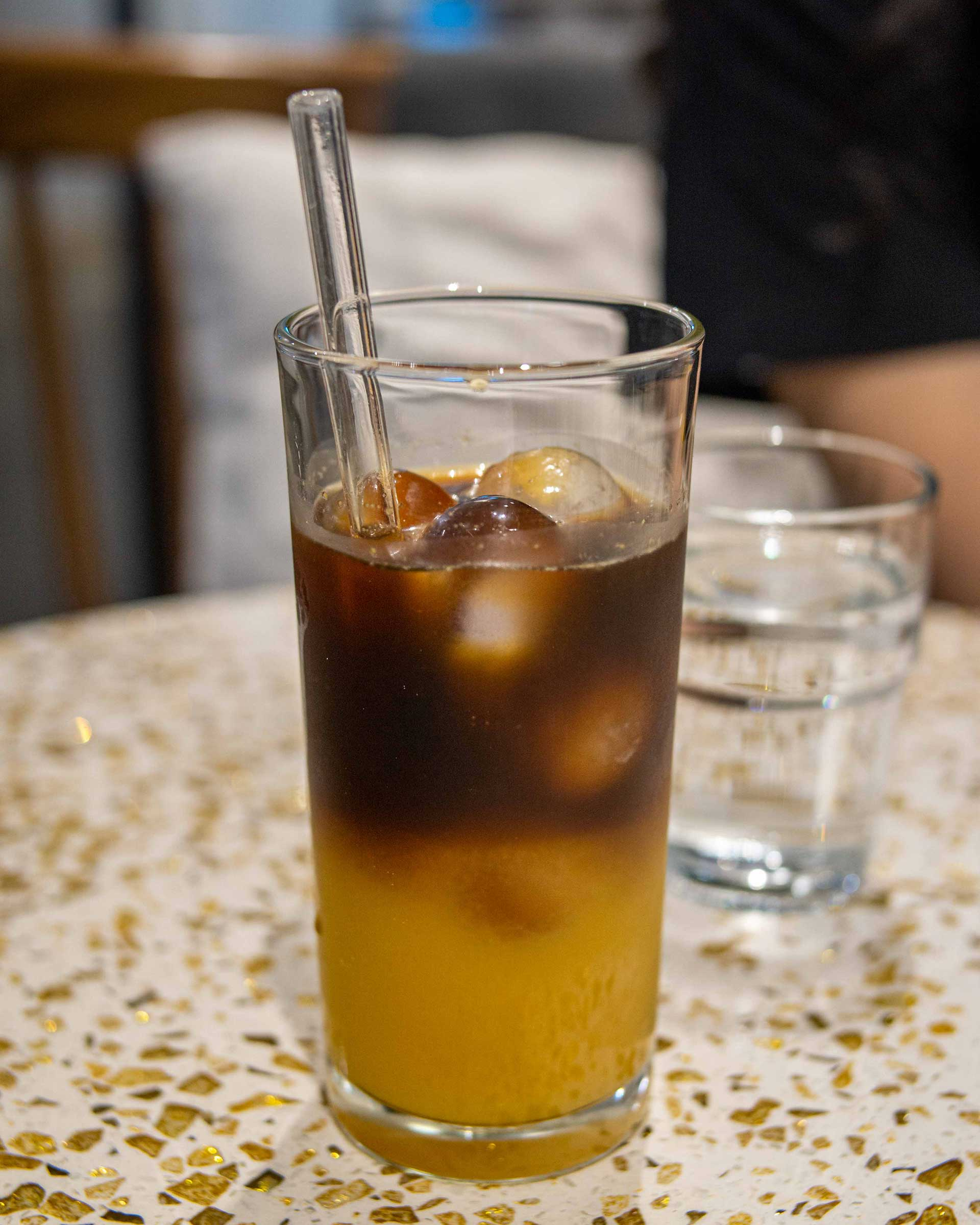 Cold brew with Orange juice, MYR13.00 ($3.12)