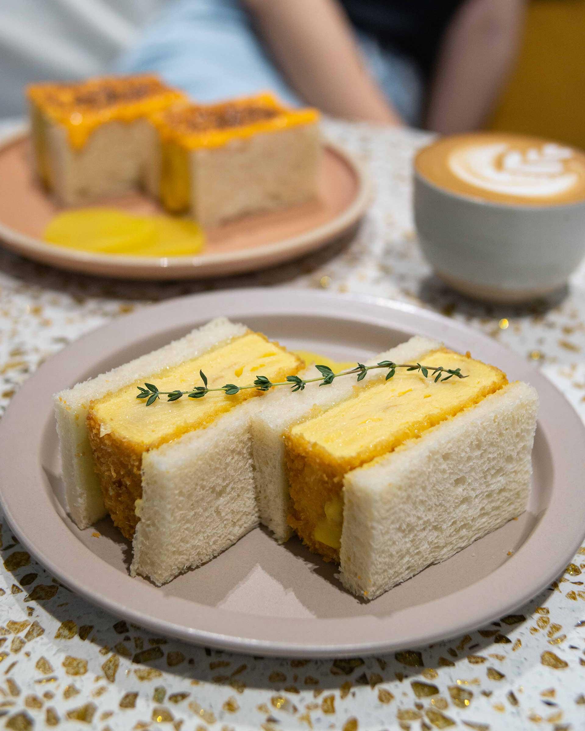 Tamagoyaki Sando, MYR18.00 ($4.32)