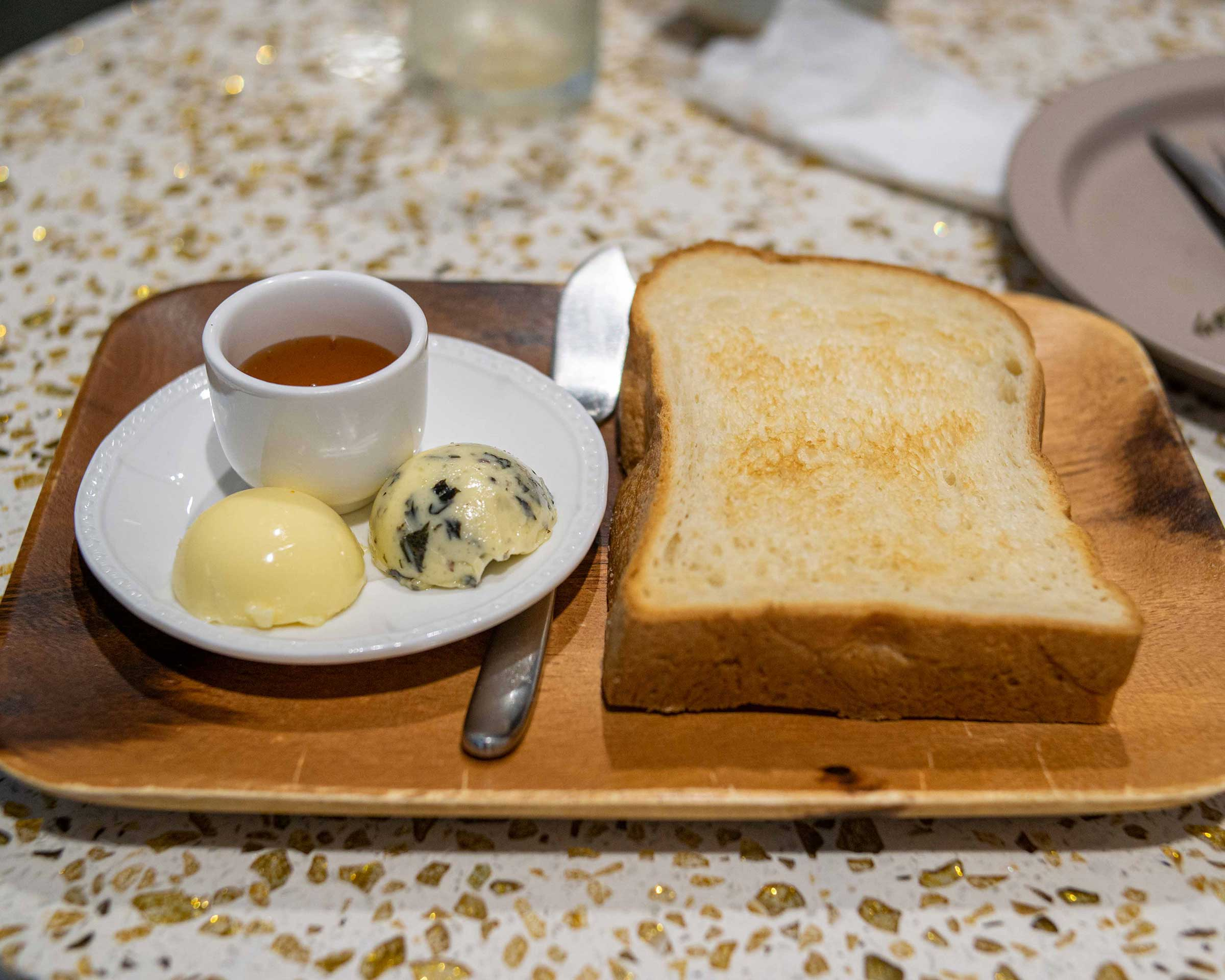 Toast w Butter