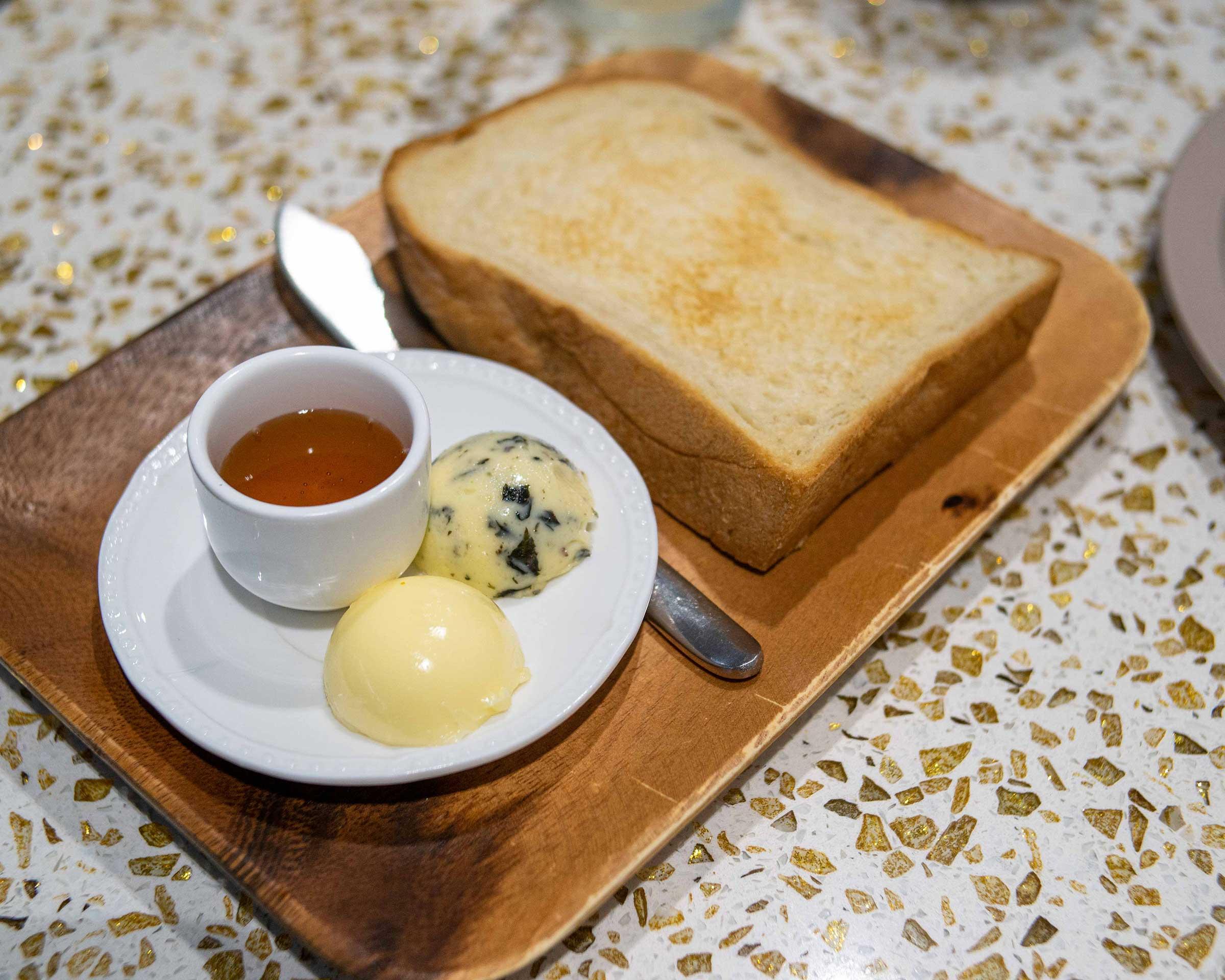 Toast w Butter MYR9.00 ($2.16)
