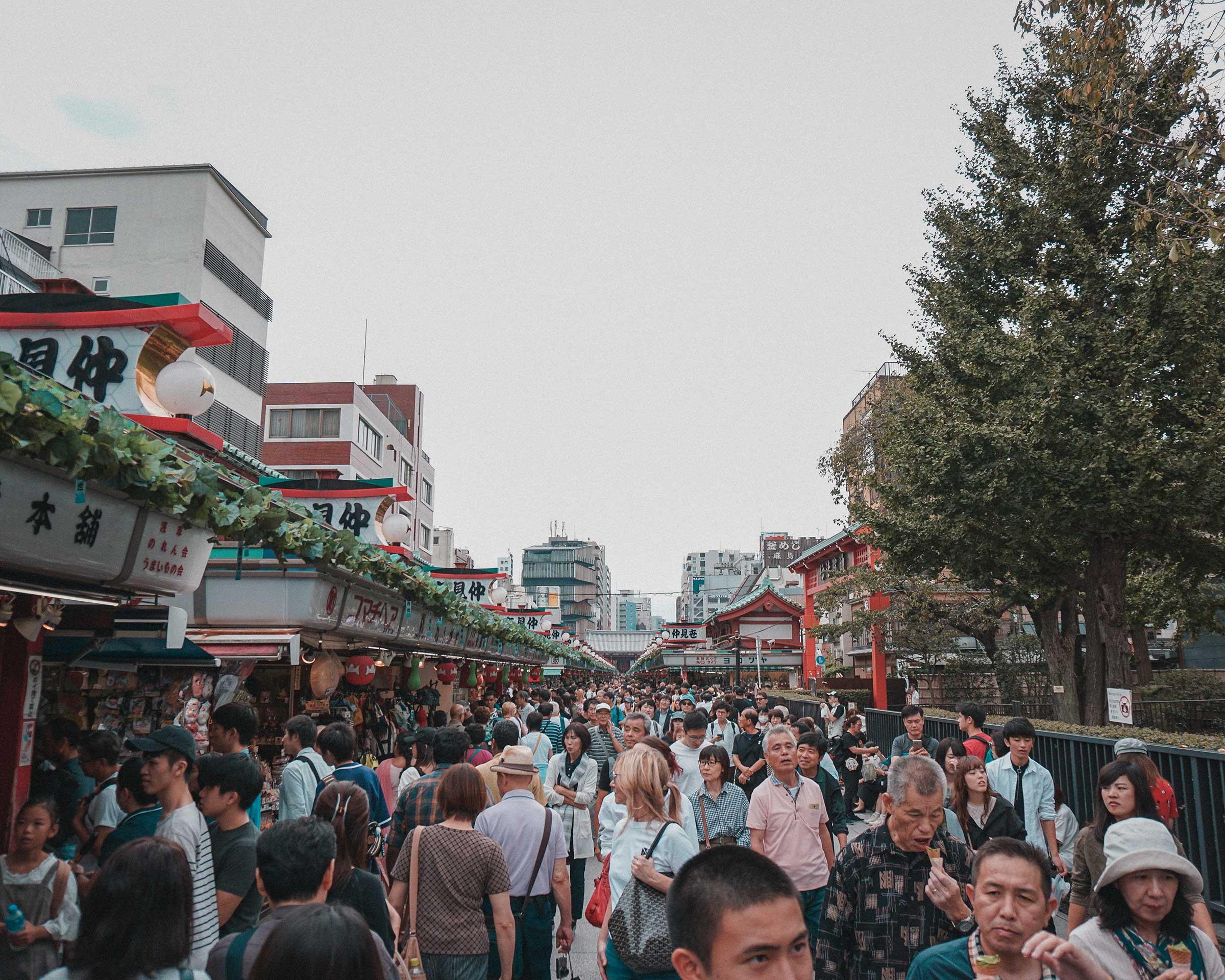 Nakamise Shopping Street (仲見世商店街)